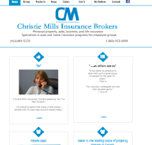 Christie Mills Insurance Brokers Logo
